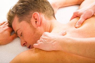 deep tissue trap massage